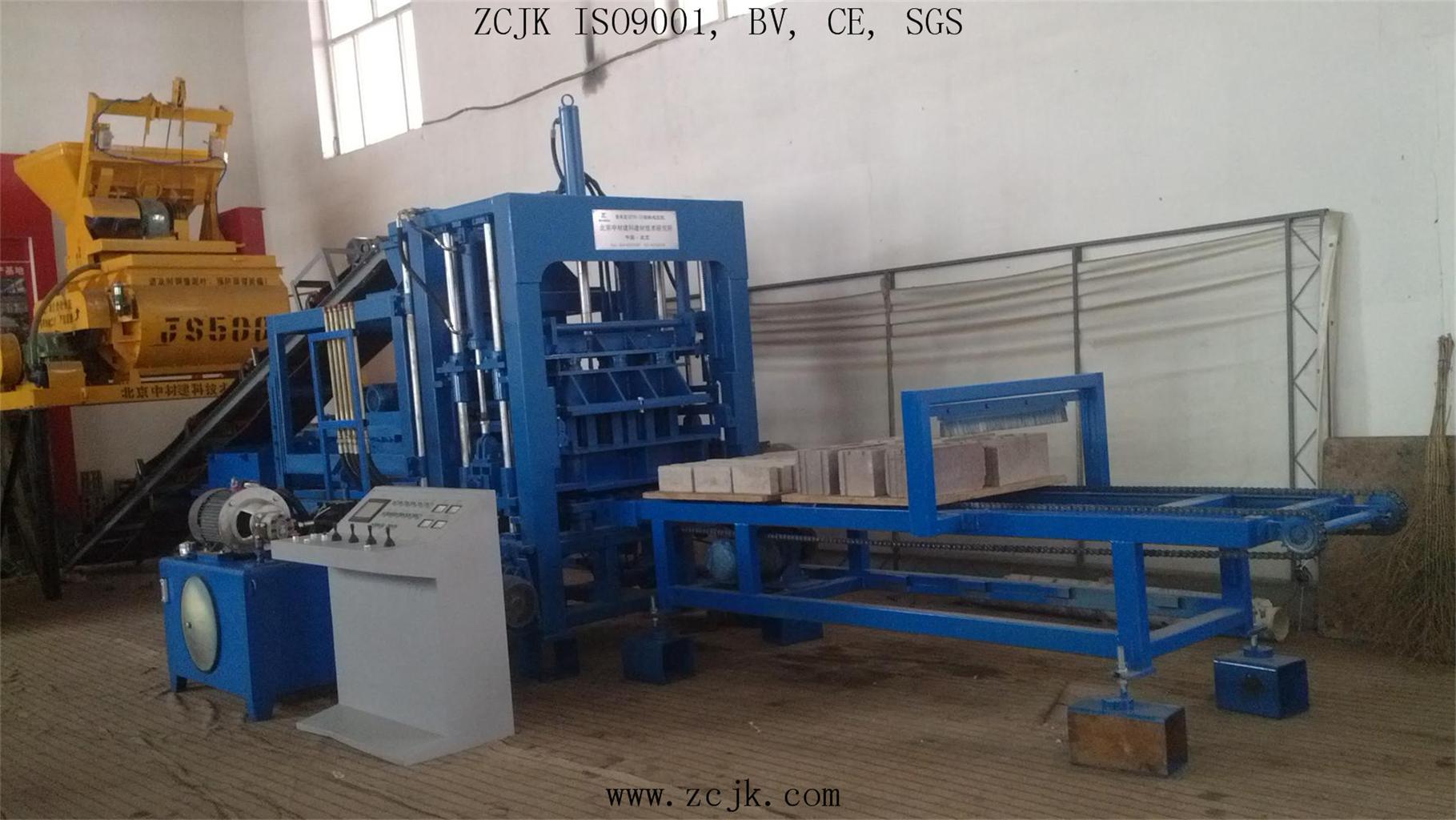 Máquina de fabricación de ladrillo de ZCJK QTY6-15