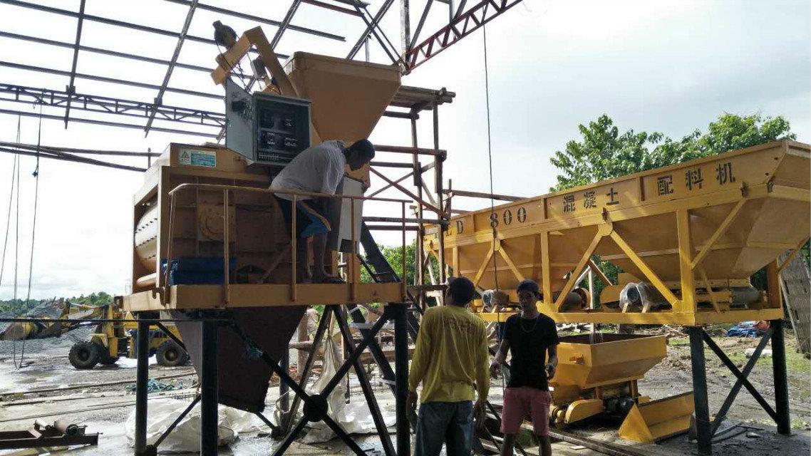 Máquina del bloque QTY4-15 en Filipinas (13)